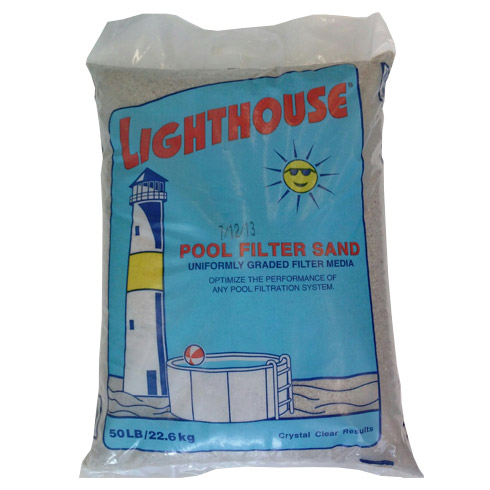 Lighthouse Pool Filter Sand 2