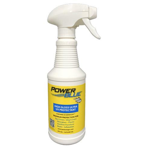 Power Blue High Gloss Ultra UV Protectant 3