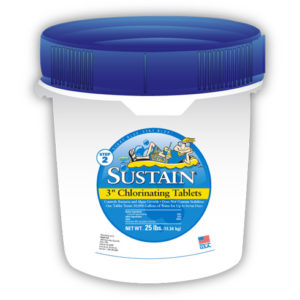 Sustain 3″ Chlorinating Tablets