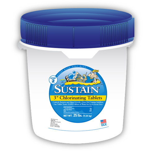 "Sustain 3"" Chlorinating Tablets 3"